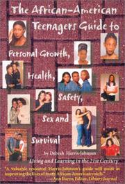 Cover of: The African American Guide to Personal Growth, Health, Safety, Sex and Survival  | Debrah Harris-Johnson