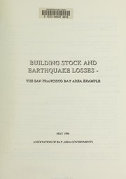 Cover of: Building stock and earthquake losses