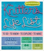 Cover of: The knitter's life list