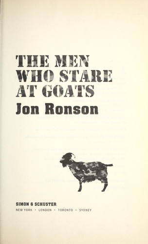 Men who stare at goats by