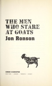 Cover of: Men who stare at goats |