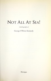 Cover of: Not all at sea! | George O