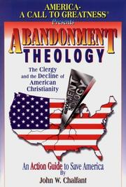 Cover of: Abandonment theology