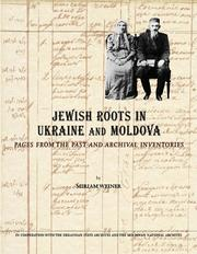 Cover of: Jewish roots in Ukraine and Moldova