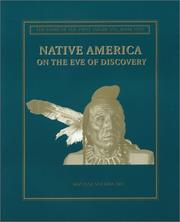 Cover of: Native America on the Eve of Conquest