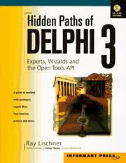 Cover of: Hidden Paths of Delphi 3