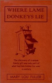 Cover of: Where Lame Donkeys Lie