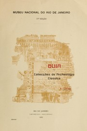 Cover of: Guia das collecções de archeologia classica