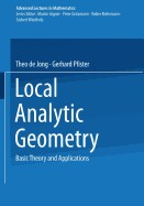 Cover of: Local Analytic Geometry | Theo De Jong
