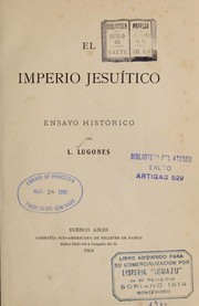 Cover of: El Imperio jesui tico