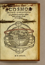 Cover of: Cosmographiæ introductio