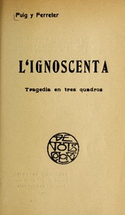 Cover of: L'ignoscenta