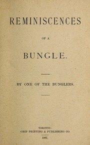 Reminiscences of a bungle by T. S. Russell