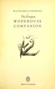 Cover of: The Penguin Wodehouse companion