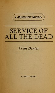 Cover of: Service of All the Dead (Murder Ink. Mystery)