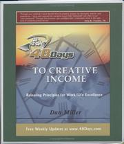 Cover of: 48 Days to Creative Income