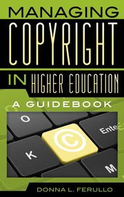 Managing copyright in higher education