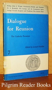 Cover of: Dialogue for reunion