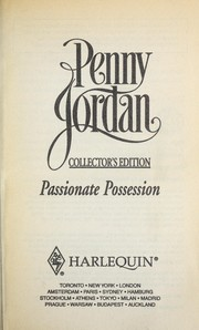 Cover of: Passionate possession