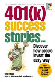Cover of: 401(k) Success Stories  | Gina Delapa