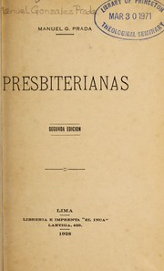Cover of: Presbiterianas