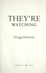 Cover of: They're watching