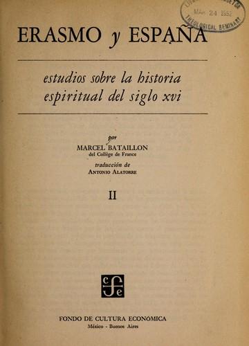 Erasmo y España