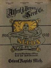 Cover of: Alfred J. Brown Seed Co | Alfred J. Brown Seed Co
