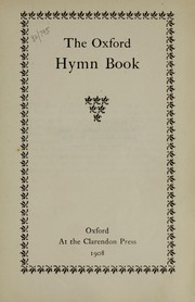 Cover of: The Oxford hymn book | Thomas B. Strong