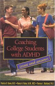 Cover of: Coaching College Students with AD/HD  | Patricia O. Quinn