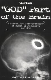"Cover of: The ""God"" Part of the Brain"