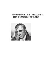 "Cover of: Wordsworth's ""Prelude"": The Snowdon Episode"