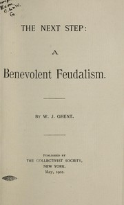 Cover of: A benevolent feudalism