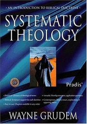 Cover of: Systematic Theology for Zondervan/Pradis Bible Software