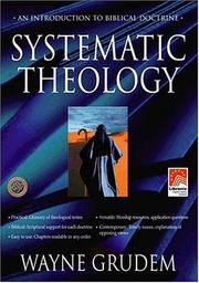 Cover of: Systematic Theology for Logos/Libronix Bible Software