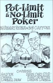 Cover of: Pot-Limit & No-Limit Poker | Stewart Reuben
