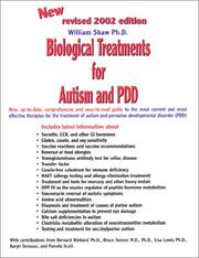 Cover of: Biological Treatments for Autism and PDD