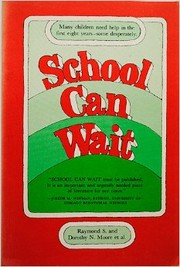 Cover of: School can wait