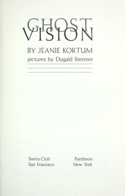 Cover of: Ghost vision