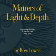 Cover of: Matters of Light & Depth | Ross Lowell
