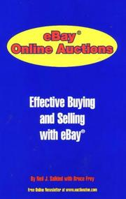 Cover of: eBay Online Auction