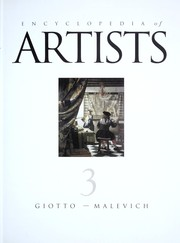 Cover of: Encyclopedia of artists