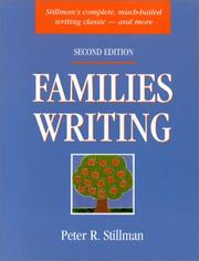 Families writing by Peter Stillman