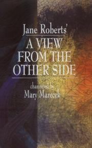 Cover of: Jane Roberts' A View From the Other Side