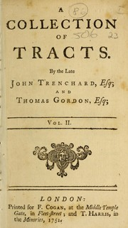 Cover of: A collection of tracts