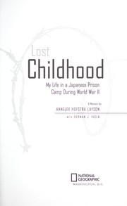 Cover of: Lost childhood