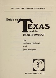 Cover of: Guide to Texas and the Southwest