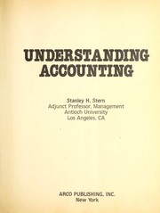 Cover of: Understanding accounting | Stanley H. Stern