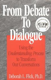 Cover of: From debate to dialogue