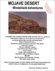 Cover of: Mojave Desert Windshield Adventures | Russell Spencer